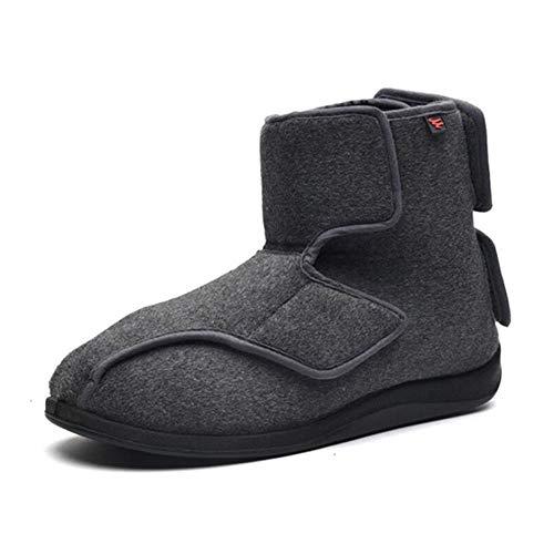 Mujer Zapatos Diabeticos, Zapatos para diabéticos paraHombres,Zapatos para diabéticos-42_Gray,hinchados Extra Ancha Zapatillas para Unisex