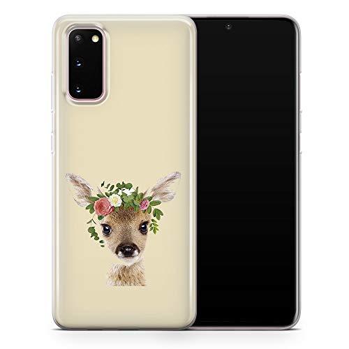 Carcasa para Samsung Galaxy S10, diseño de jirafa, león koala, oso conejo, flor, transparente, suave, gel