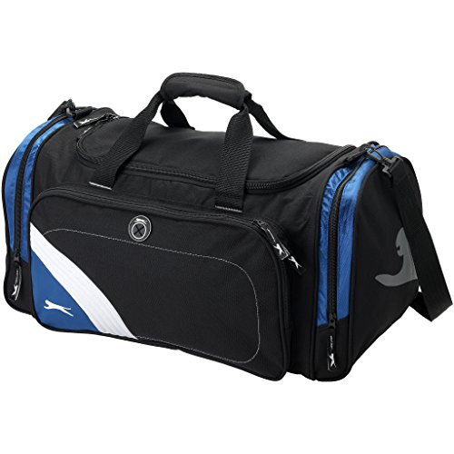 Slazenger Wembley Sport Tasche (55 x 29 x 29cm) (Schwarz/Blau)