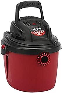 Shop-Vac 2036000 2.5-Gallon 2.5 Peak HP Wet Dry Vacuum, Small, Red/Black