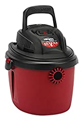"""Collapsable top carry handle Accessories are 4' x 1.25"""" hose, gulper nozzle, and crevice tool GOT DIRT? Shop-Vac's full line of products includes cordless, rechargeable wet dry vacuums, automotive vacuum systems, air movers, attachments & more. Whate..."""