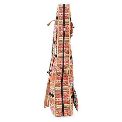 The House Of Tara Handloom Fabric Guitar Case (Multicolor 10) 5