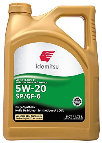 engine oils Idemitsu Full Synthetic 5W-20 Engine Oil SP/GF-6-5 Quart (30013014-95300C020)