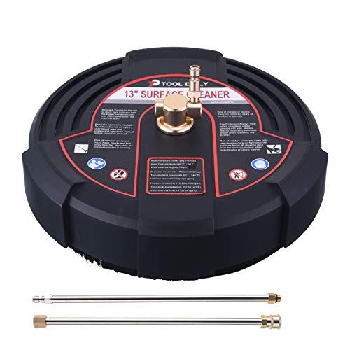 도구 일일 13 인치 압력 세척기 표면 클리너 첨부 2 개의 전원 와셔 확장 WANDS 2500 PSI