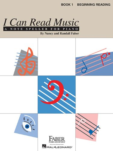 I Can Read Music - Book 1: Beginning Reading (PIANO)