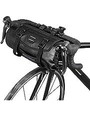 Lixada Fietstas, waterdicht, voor mountainbikes, voorframe, stuur, pannier, droogtas met ritssluiting, 3-7 liter, verstelbaar