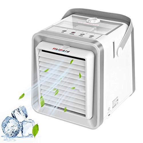HeiPard Raffreddatore portatile Mini Air Cooler USB per evaporazione con raffreddamento ad acqua da 350 ml e ventilatore, 8,5 pollici (HP-AC-502)