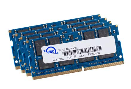 OWC 64GB (4 x 16GB) 2666MHz DDR4 PC4-21300 SO-DIMM 260 Pin Memory Upgrade, (OWC2666DDR4S64S), for 2019 27 inch iMac (iMac19,1) and PC laptops
