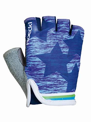 Roeckl - Radsport-Handschuhe für Jungen in indigo, Größe 5