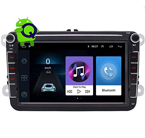 pequeño y compacto EINCAR 8 pulgadas estéreo Android 10.0 Bluetooth coche navegación GPS doble 2DIN …