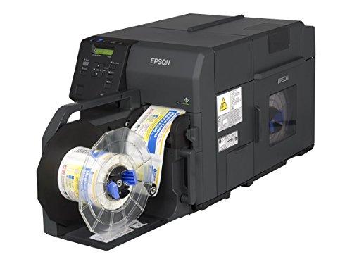 Epson ColorWorks C7500G - Etikettendrucker (Tintenstrahl, 600 x 1200 DPI, 300 mm/sek, 10,8 cm, ZPL II, LCD)