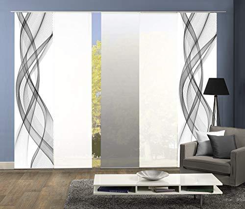 wohnfuehlidee wohnfuehlidee 5er-Set Flächenvorhang, Deko Blickdicht Bild