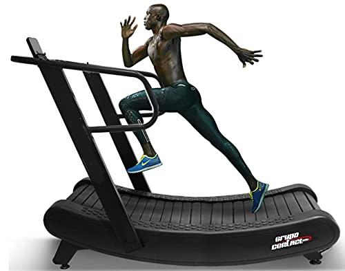 Grupo Contact Cinta de Correr Curva Semi-Profesional, Curve Treadmill Mod. (PI-40)-1 🔥