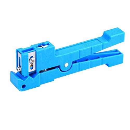 Separador del cable coaxial de cables de fibra óptica suelta del tubo Cortadora horizontal de 45 a 163 para herramientas de uso FTTH Mano de Telecomunicaciones