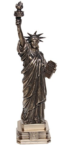 "12.38 \""The Statue of Liberty\"" Cold Cast Bronze-Skulptur, Figur"