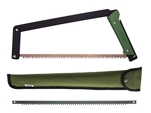 AGAWA - BOREAL21 Tripper KIT - 21 inch Folding Bow Saw, Rugged Cordura...