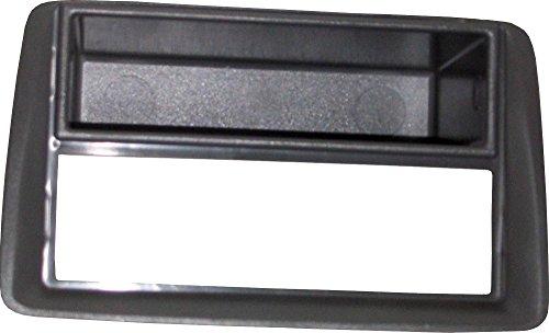 Mascherina autoradio 1 DIN adattatore stereo