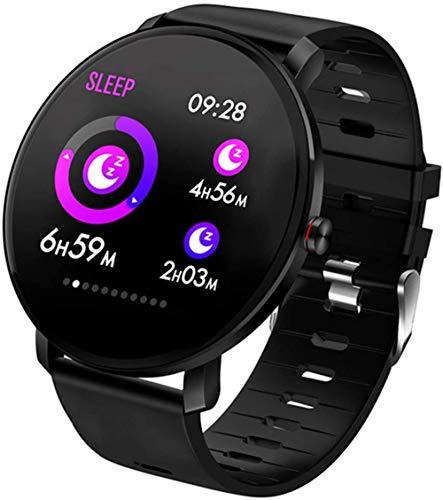 TYUI Pulsera inteligente de frecuencia cardíaca y presión arterial, reloj inteligente cardiovascular para mujeres y hombres-A