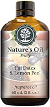 Fiji Dates & Lemon Peel Fragrance Oil (60ml) For Diffusers, Soap Making, Candles, Lotion, Home Scents, Linen Spray, Bath Bombs, Slime