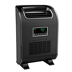 LifeSmart HT1153L Slimline Wall Huggable 1500 Watt Infrared Quartz Single Room Space Heater