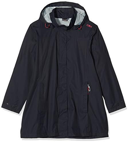 CMP Damen Windproof and Waterproof rain Jacket WP 10.000 Jacke, Anthracite, D48