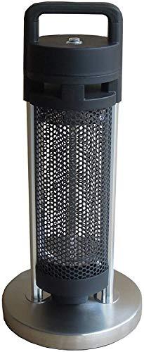 CHENYE Indoor/Outdoor-Stand-Elektro Heizpilz, Little Sun Badezimmer elektrische Heizung, Schwarz