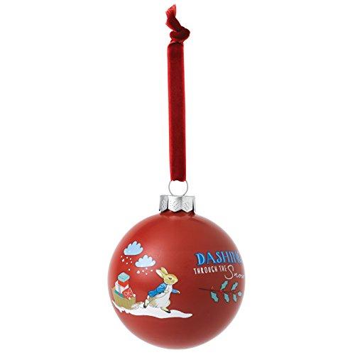 Beatrix Potter Boule de Noël Motif Peter Rabbit