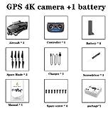 FairOnly Sg906 Pro Drone 4k HD Caméra Gimbal Mécanique 5g Système WiFi GPA Prend en Charge Le Vol de Carte TF 25 Min Rc Distance 1.2 km Boîte de Couleur Jouets