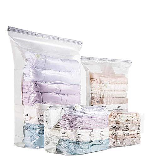 CHAO Vacuüm Compressie opbergtassen, veilig, niet-giftig, duurzaam en herbruikbaar, Space Saver, ideaal voor het opslaan van spreien, dekbedden, lakens, Handdoeken, kleding, enz.