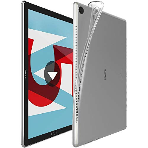ebestStar - Funda Compatible con Huawei MediaPad M5 10.8 Carcasa Silicona, Protección Crystal Clear TPU Gel, Ultra Slim Case, Transparente [M5 10.8: 258.7 x 171.8 x 7.3mm, 10.8'']