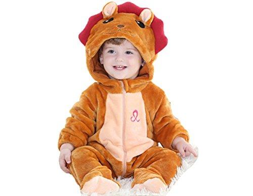 OHmais Bébé Fille garçon Unisexe Grenouillère Costume Deguisement Combinaison Pyjamas Hiver Léo