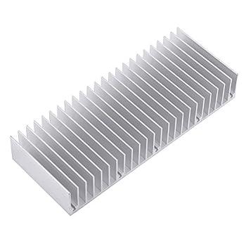 Aluminium Heatsink 150 x 59 x 25mm Amplifier Heat Sink 24 Teeth Cooling Fin