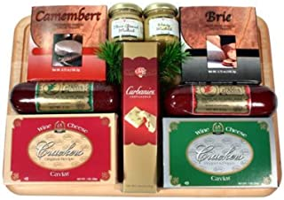 An Executive Man Variety Sausage and Cheese Gift Set   Fathers Day Meat and Cheese Gift