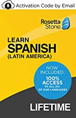 Why stick to just one language? With Rosetta Stone: Unlimited Languages, you'll receive access to all 24+ of our languages for life, that means you can switch between languages without any additional subscription fees Thrive in another language: with...