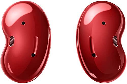 Samsung Galaxy Buds Live, cuffie wireless Bluetooth con cancellazione del rumore ANC, colore: rosso