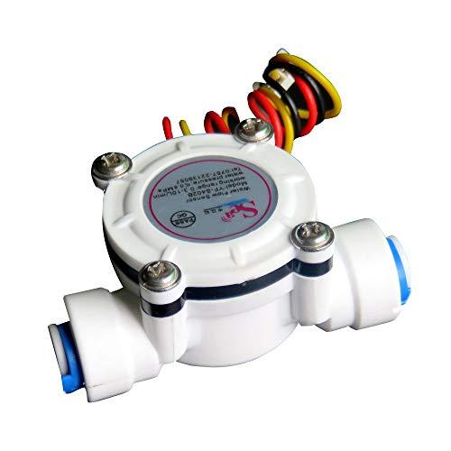 ZHFENG DN6 G1 / 4 PE Wasserzähler Durchflusssensor Zähler Anzeige Dispenser Durchflussmesser 0,3-10L / min Messgeräte