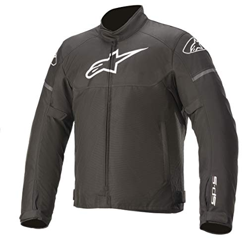 Alpinestars Motorradjacke Sport T-SP S WP Farbe schwarz, Größe L