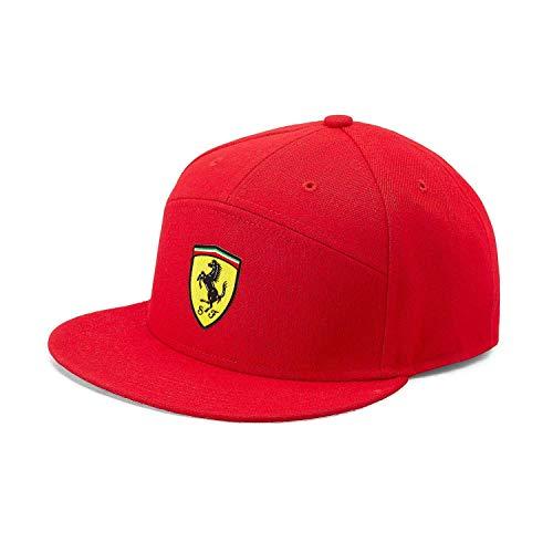 Gorra de ala Plana roja de la Marca Sports Merchandising B.V. Scuderia