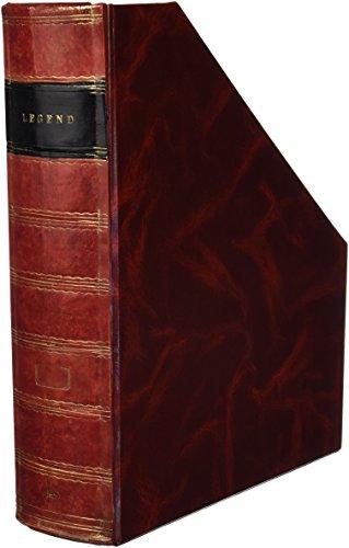 Pardo 234500 - Revistero tamaño folio, color burdeos