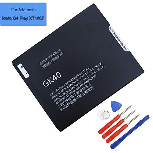 Batteria ai polimeri di litio GK40 SNN5967A compatibile con Motorola Cedric Moto E3, Moto E4, Moto G4 Play, Moto G5, XT1601 XT1603 XT1675