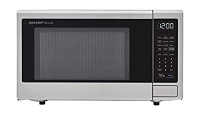 Sharp ZSMC1139FS Smart Countertop Microwave Oven 1.1 Cubic Foot, Stainless Steel-Works with Alexa — A Certified for Humans Device