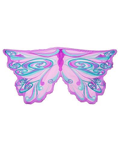 Dreamy Dress-Ups 50579 Wings, Lavender Fairy Rainbow (ailes en tissu, fée motif arc-en-ciel, lavande)