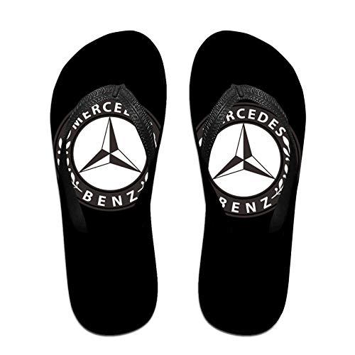 Aiier Me-Rcedes Be-Nz Emblem Herren rutschfeste Flip Flop Hausschuhe Beach Thong Sandale