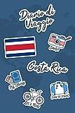 Diario di Viaggio Costa Rica: Diario di viaggio da compilare | 106 pagine, 15,24 cm x 22,86 cm | Per accompagnarvi durante il vostro soggiorno