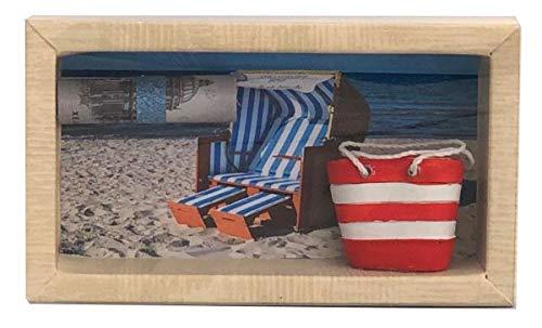 unser schönster Tag Geldgeschenk Gutschein Strandkorb Ostsee Nordsee GS065