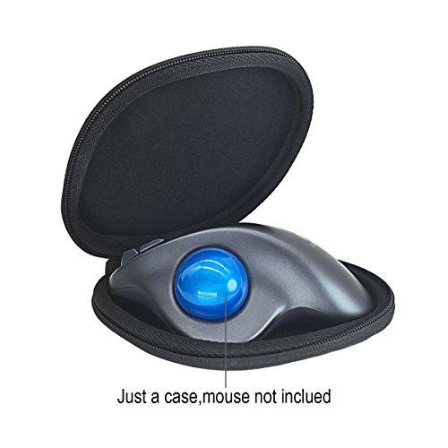Difficile Viaggio Caso borsa per Logitech M570 Mouse con Trackball Wireless Mouse di VIVENS