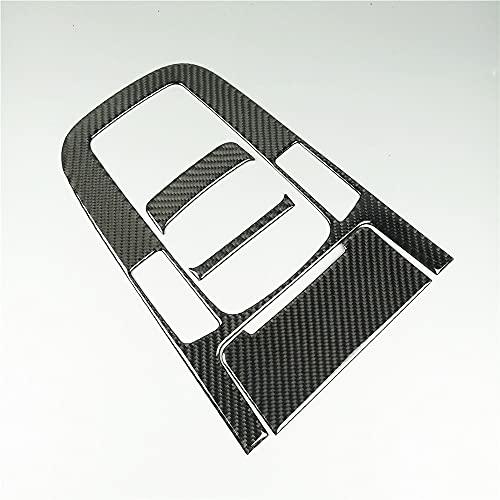 ZHANGHUA Cubierta del Panel de Cambio de la Consola de la Consola de la Consola de la Consola de la Fibra de Carbono para Audi A5 A4 B8 2012-16 (Color Name : F)