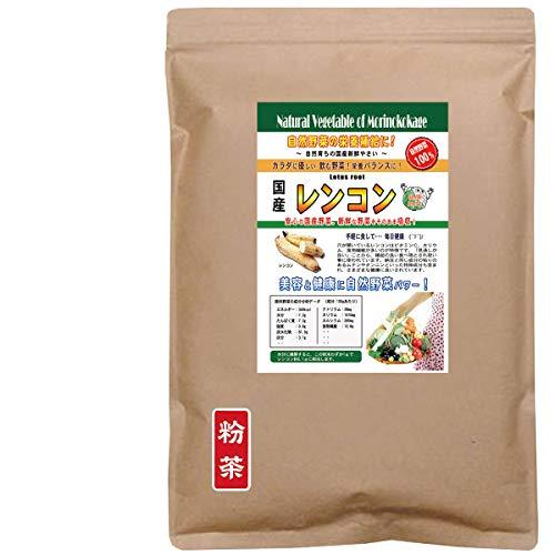 森のこかげ レンコン 国産 野菜 粉末 パウダー 業務用 300g