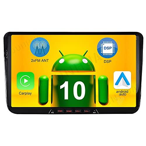 "9"" Android 10.0 2GB 32GB Built-in Carplay Android Auto GPS Autoradio Navigation für VW Passat B6 Golf 5 6 Touran Tiguan Transporter T5 Polo Caddy Skoda Seat BT WiFi 4G OBD2"