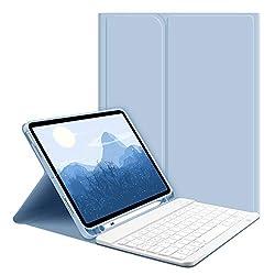 ✌✌Compatibilité - Spécialement conçu pour iPad Air 4 2020 10.9 transformant votre iPad en un ordinateur portable ultraportable. Compatible avec les numéros de modèle iPad: A2072/A2316/A2324/A2325,veuillez vérifier votre modèle avant d'acheter. ✌✌ Ang...